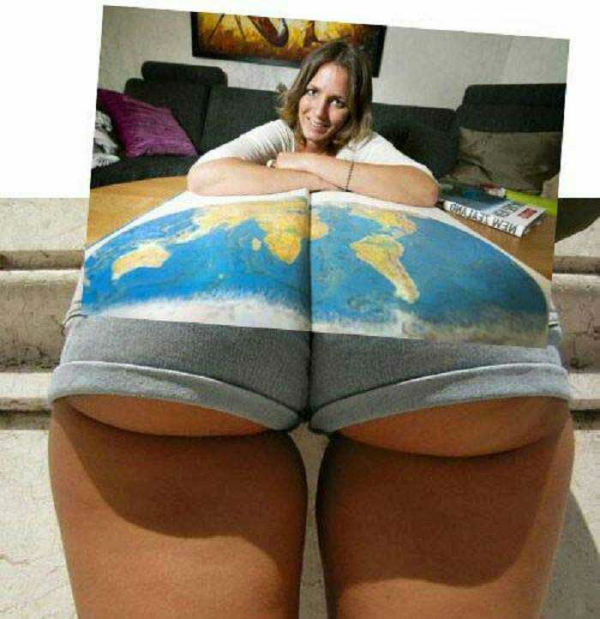 Big Tuna's Daily Laugh - A World Class Ass!....... NO! Not