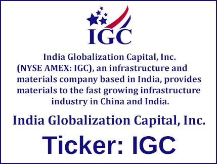 IGC Stock