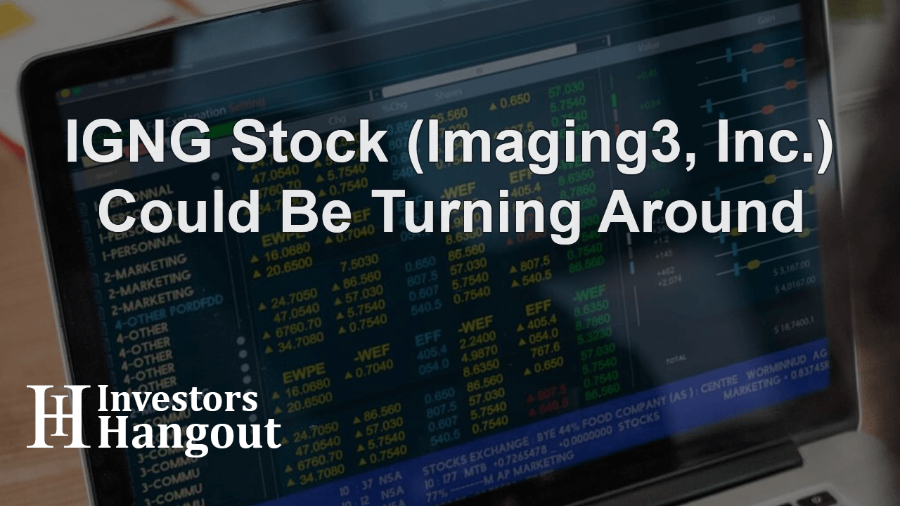 IGNG Stock (Imaging3, Inc.) Could Be Turning Around
