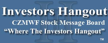 CZMWF Stock   Message Board   Carl Zeiss Meditec - Investors