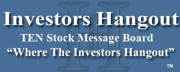 Ten Stock Tenneco Automotive Stock Message Board Investors Hangout