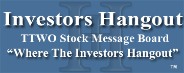 TTWO Stock   Message Board   Take-Two Interactive Software